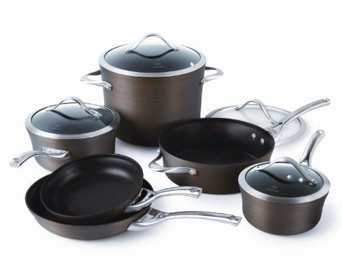 Calphalon Contemporary 10 Piece Bronze Anodized Edition Cookware