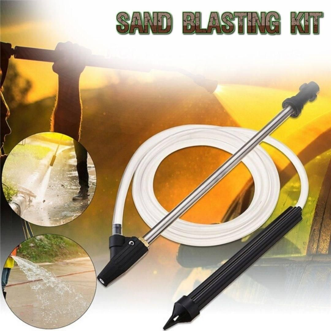 High Pressure Washer Wet Sand Blasting Kit Video Video In 2020 Pressure Washer Cool Gadgets To Buy Wet Sandblasting