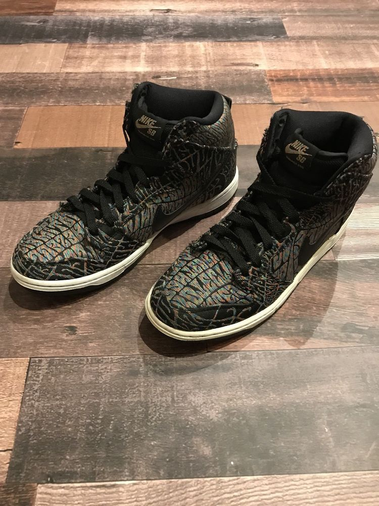 outlet store 916fc d2f36 Nike SB Dunk High Pro Premium Psychedelic Skateboard Shoes Mens 9.5   fashion  clothing  shoes  accessories  mensshoes  athleticshoes  ad (ebay  link)