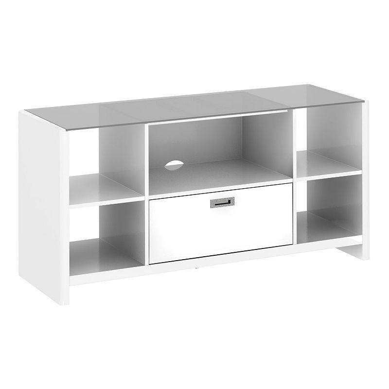kathy ireland Office by Bush Furniture New York Skyline Credenza TV Stand,