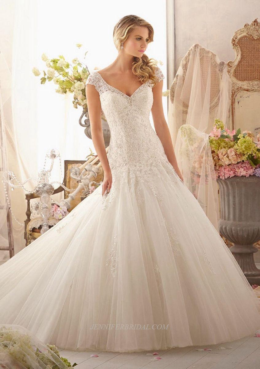 Mori Lee Bridal Gown Style 2619 | Wedding Idea | Wedding