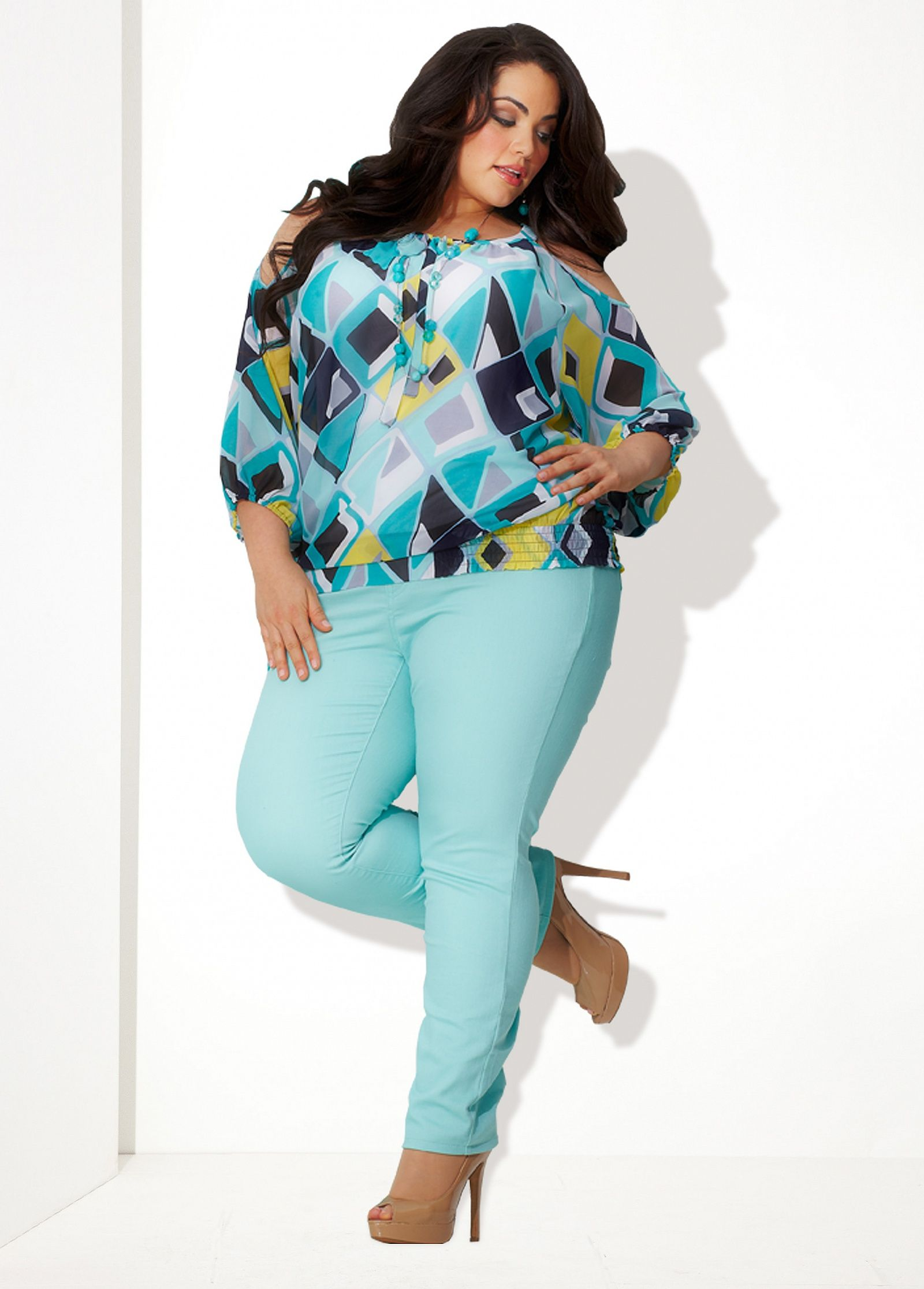 ashley stewart big beautiful curvy real women, real sizes with