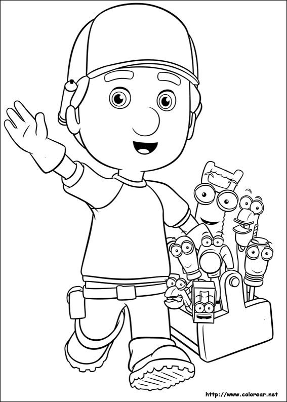 Dibujos Animados Disney Channel Buscar Con Google Handy Manny