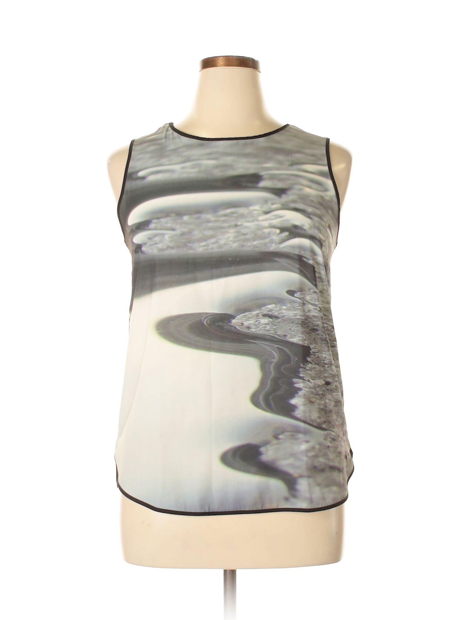For Sale Cheap Real Sleeveless Top - Gray brick by VIDA VIDA Cheap Online Store How Much Cheap Online Free Shipping Official Site 03vZWs