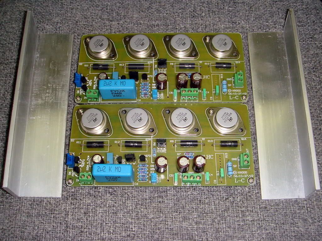 HIFI PASS A3 Single-ended Class A power amplifier kit 30W+30W AMP 2 channel