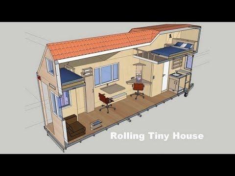 Mobiles minihaus rolling tiny house informationen und for Mobiles wohnen im minihaus