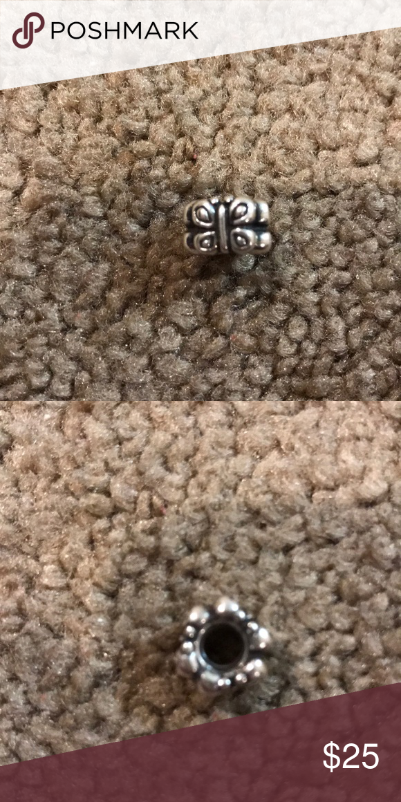 c317a4f053538 Pandora butterfly charm Perfect condition Pandora Jewelry Bracelets ...