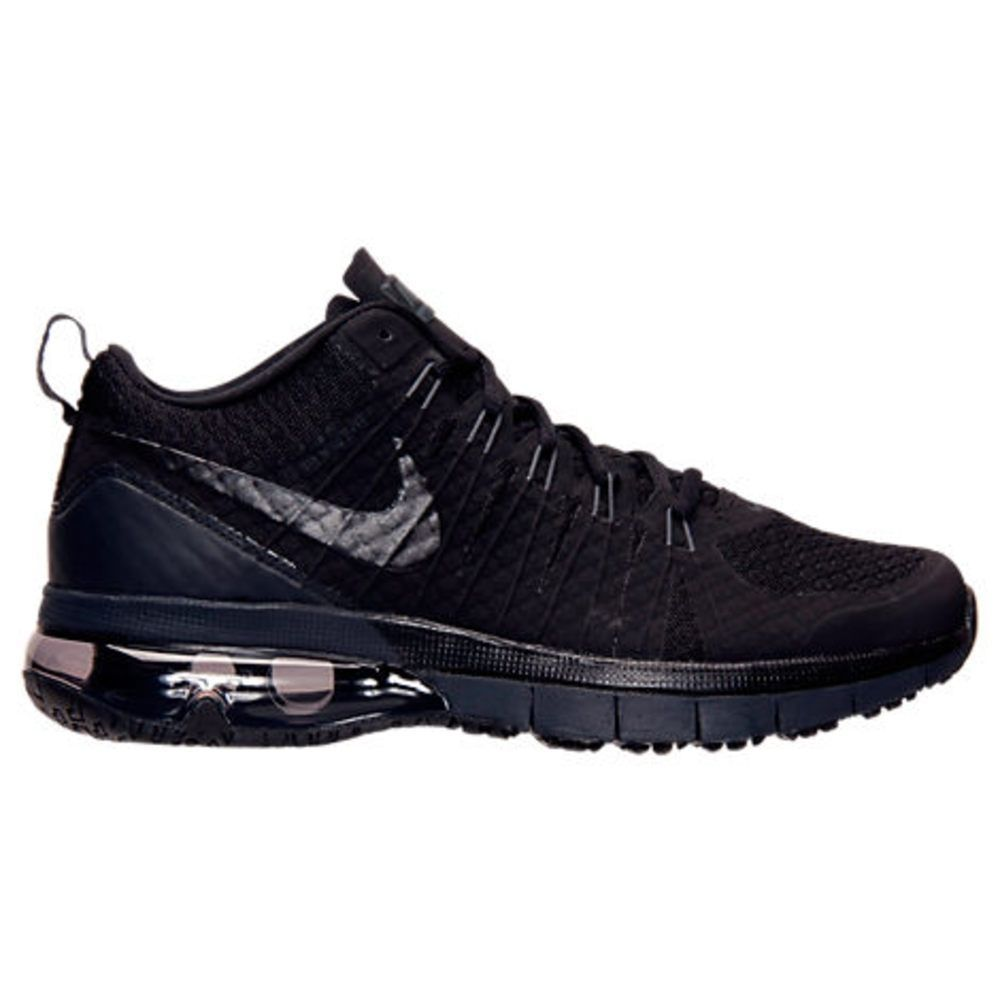 NEW Mens Nike Air Max TR 180 Training Shoes Black / Anthracite 723972001  LIMITED…