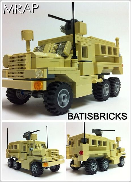 New Mrap Kit In August Lego Military Lego Truck Lego Army