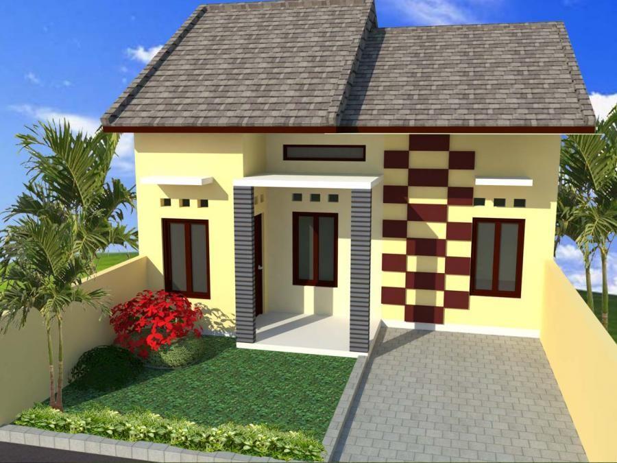 Cat Depan Rumah Yang Cantik Rumah Minimalis Fasad Desain