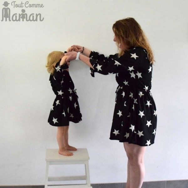 Favorit Robe / chemise ETOILE | Etoilee, Maman et Mères filles VI58