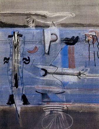 1940-1946 FASE SURREALISTA Mark Rothko, Drama nocturn, 1945. EXPRESSIONISME ABSTRACTE