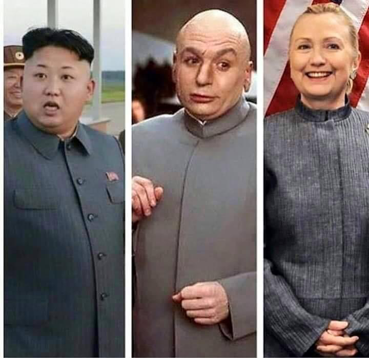 Image result for hillary clinton kim jong un pantsuit