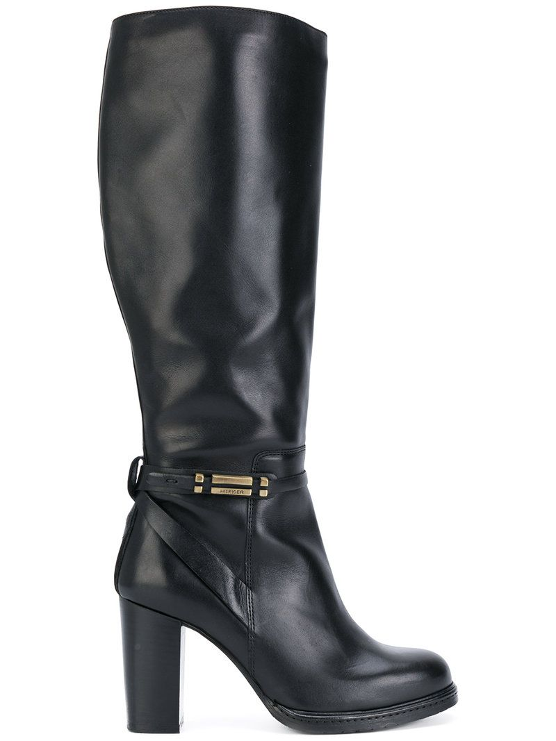 c797a93487e TOMMY HILFIGER KNEE LENGTH BOOTS.  tommyhilfiger  shoes