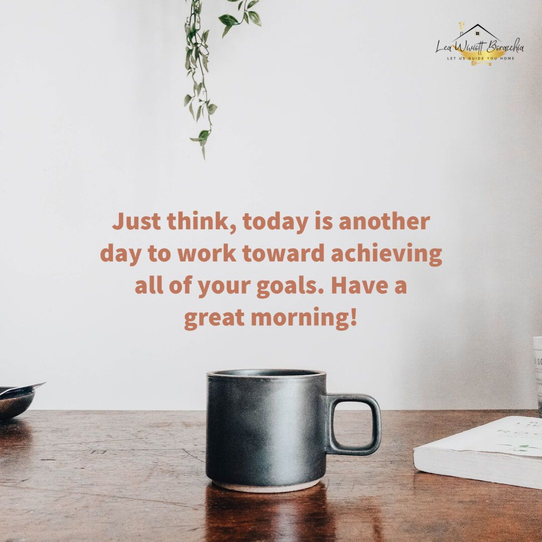 Just think, today is another day to work toward achieving all of your goals. Have a great morning! #goodmorning #QOTD #liveyourlife #achievement #achieveyourgoals #achievetheimpossible #achievegreatness #reachyourgoals #reachhigher #fianncialfreedom #financialindependence #goals #goalskeeper #dreamteam #dreamlife #investingforbeginners #personalfinancelife #finances #financialfreedom #wealthbuilding #wealthmindset #investing #investment #investor #investinyourself #investnow