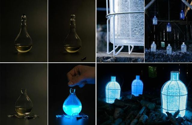 Amazing Pics, Quotes And Fun: Algae Lamps May Soon Light Up Streets!