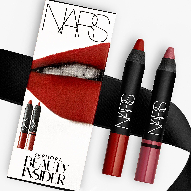 Sephora Birthday Gift NARS Velvet Matte Lip Pencil Mini In Cruella Satin Rikugien