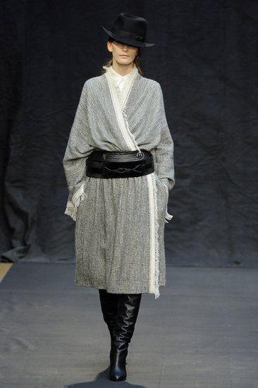 very Peruvian... no? Hermès Fall 2012 {via Fashionologie byCHRISTINA PEREZ|March 4, 2012}