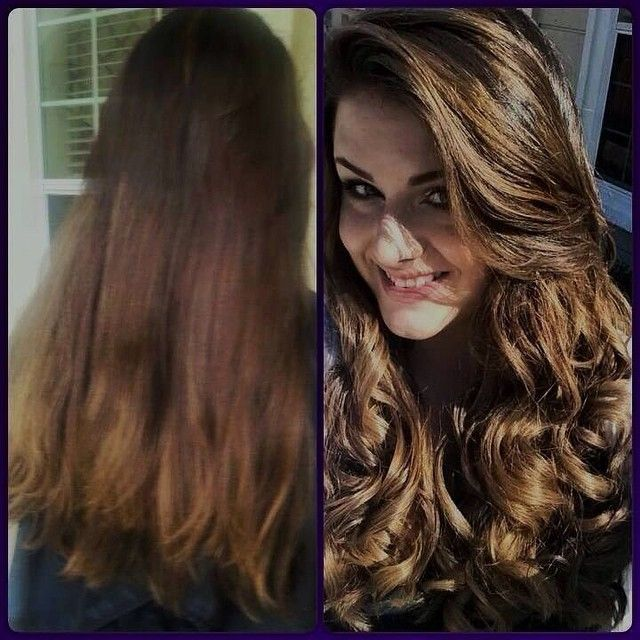 Before/After Redken Color Balayage