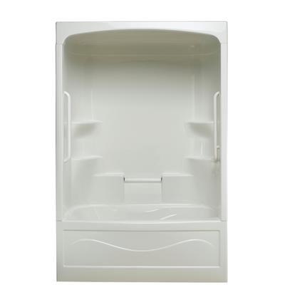 Delta 3 Piece Tub Shower | ... Parker 20 - Acrylic 60 Inch 3-piece ...