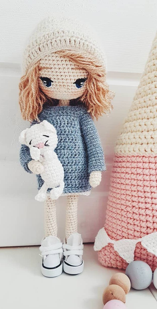 35+ Beautiful Amigurumi Doll Crochet Ideas and Images - Page 10 of 35 - Daily Wo...
