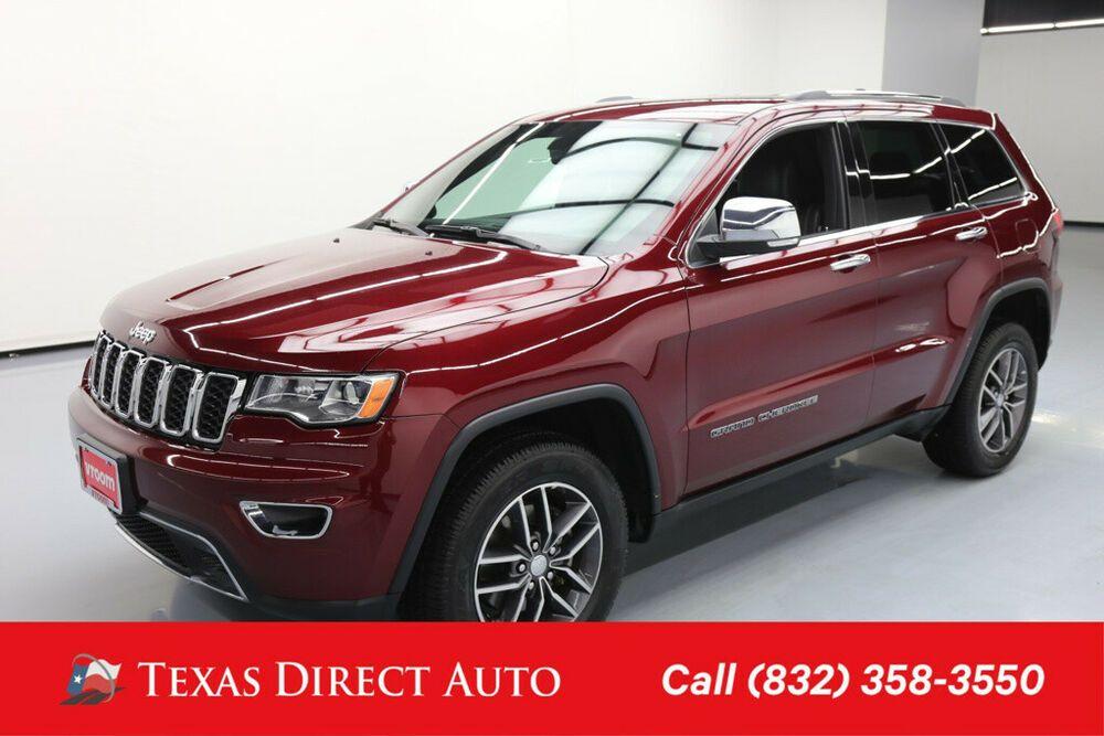 Ebay Advertisement 2017 Jeep Grand Cherokee Limited Texas Direct