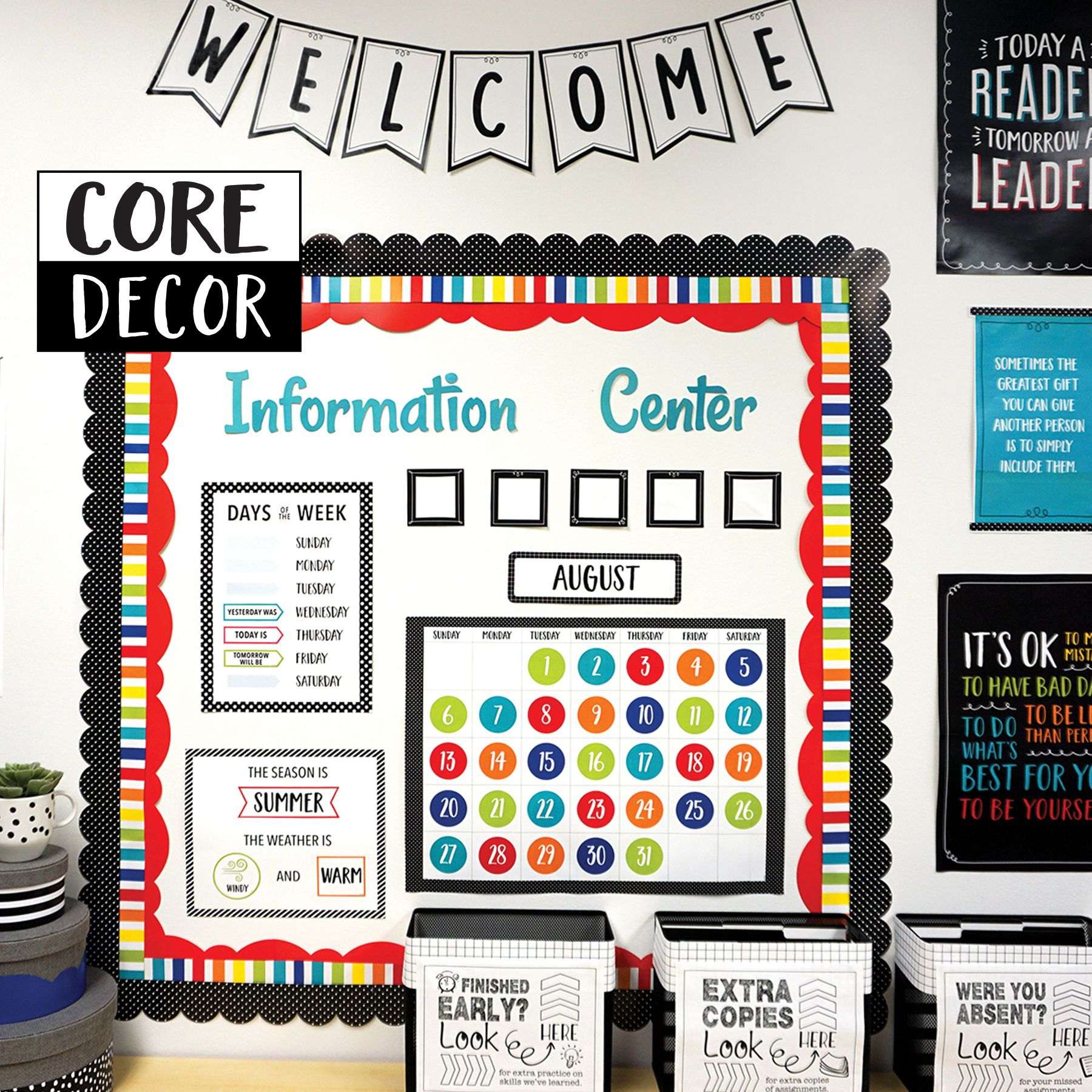 Curate Your Classroom With Core Decor In