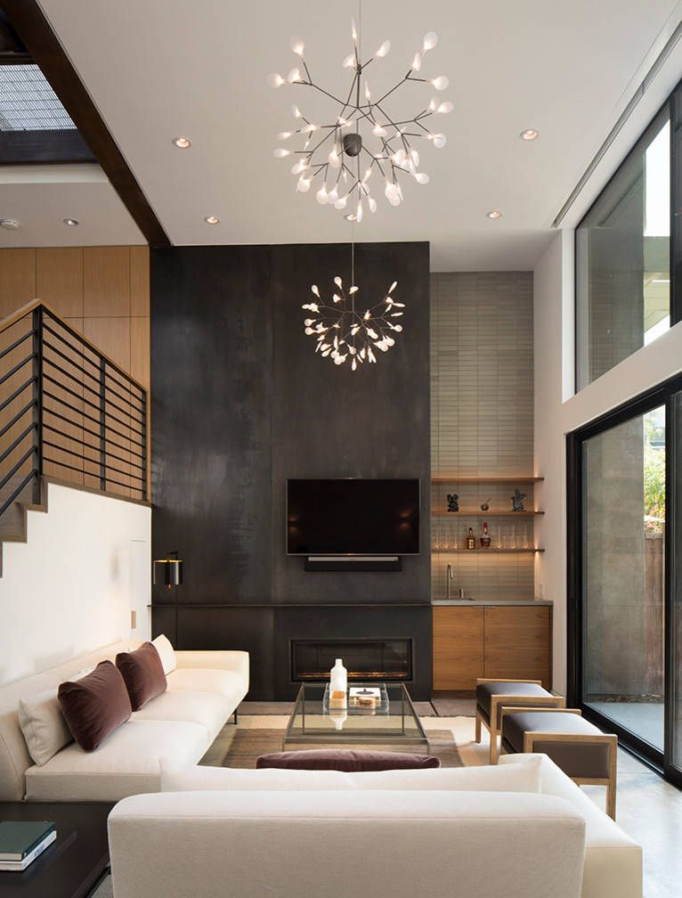 Modern Interior Decorating More Living Room Design Photos: Menlo Park Townhouse By John Lum Architecture