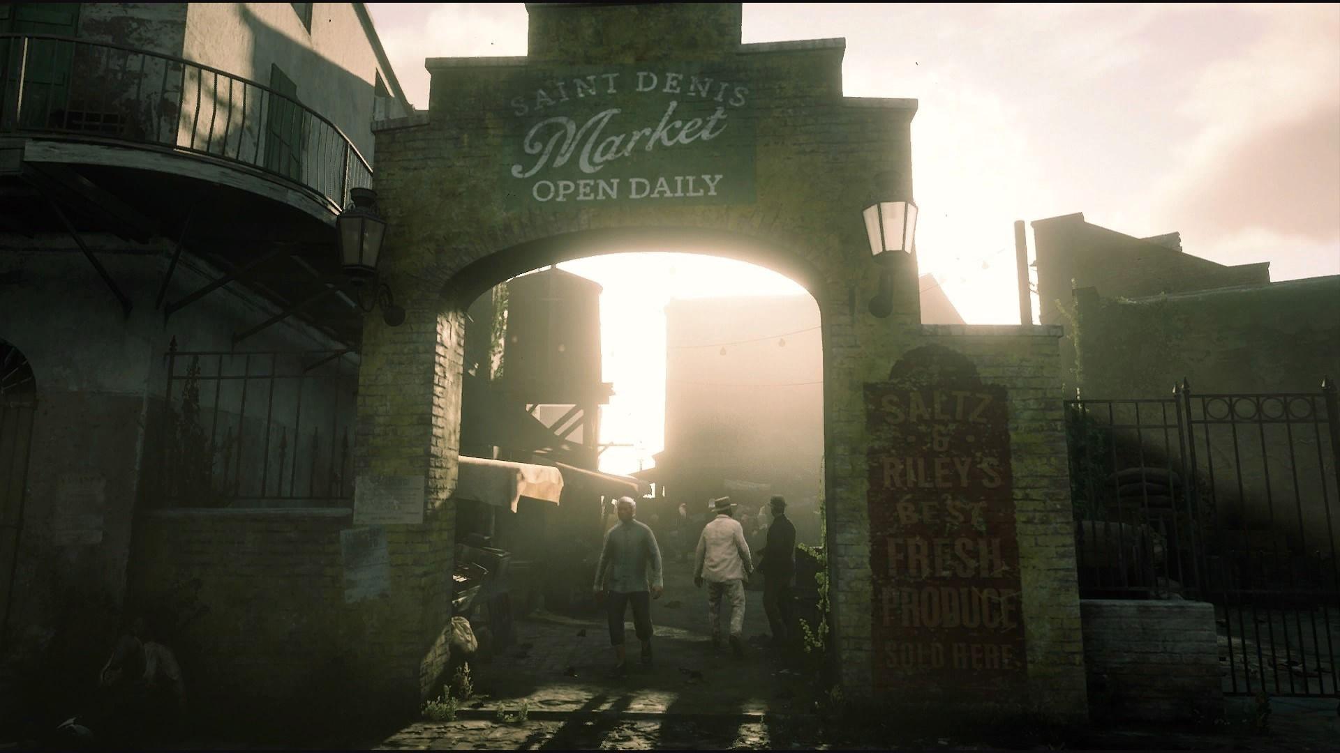 Saint Denis Market Saint Denis Photo Cultural Capital