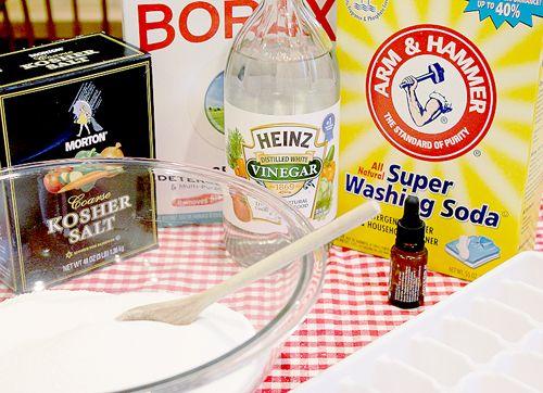 Home made dishwasher tabs Dishwasher detergent, Homemade