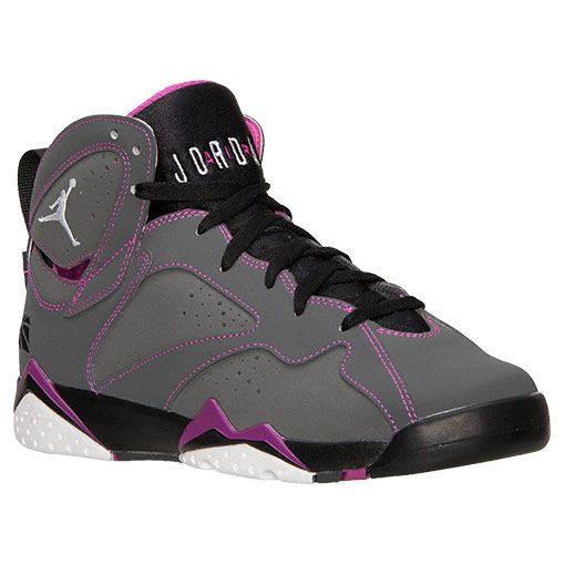 0027f8801de7ee Girls  Grade School Air Jordan Retro 7 (3.5y-9.5y) Basketball Shoes ...