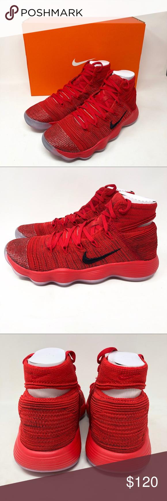 7005d7308b0b Nike Hyperdunk 2017 Flyknit University Red Sneaker Nike Hyperdunk Men s size  8.5 2017 Flyknit University Red
