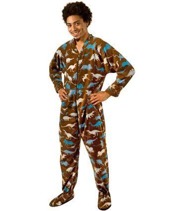 64088af335 Pajamas   45 Dinosaur Footie Pajamas