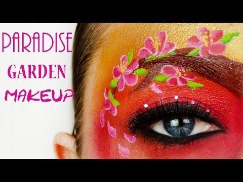 #pretty Paradise Flower Garden Makeup Tutorial