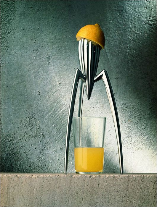 Alessi Stainless Steel Juicy Salif Citrus Squeezer