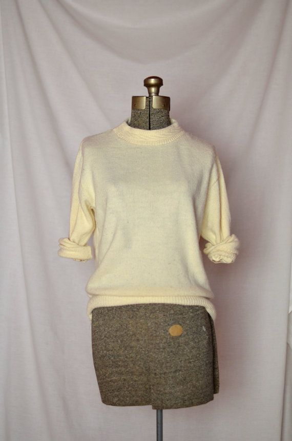 Snow Day Sweater by FoxandVintage on Etsy, $25.00