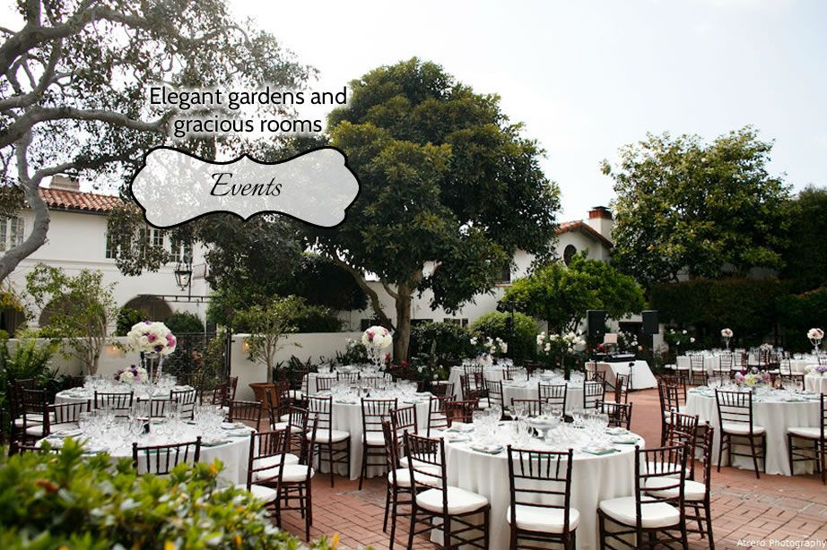Darlington House La Jolla Weddings Receptions Special