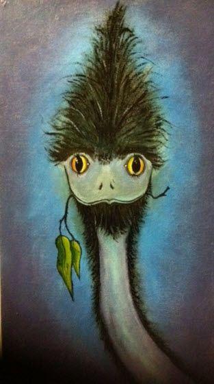 Ostrich by Edith Curtis