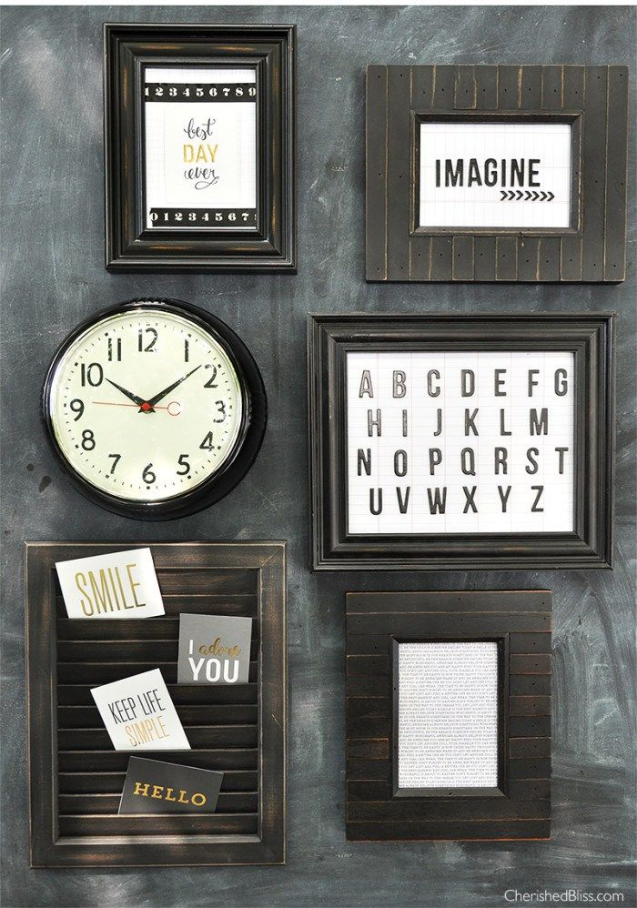 DIY Playroom Wall Art made with the Home+Made collection by @pebblesinc and #jenhadfield