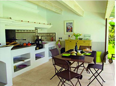 15 idées pour aménager une cuisine du0027été à lu0027extérieur Kitchen - Cuisine D Ete Exterieure