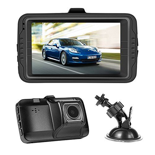 NEXGADGET Dash Cam 3.0 Screen FHD 1080P Car dashboard Camera Vehicle On-dash Video Recorder Camcorder Support 24//7 Surveillance G-Sensor Loop Recording Extra USB Port on Car Charger