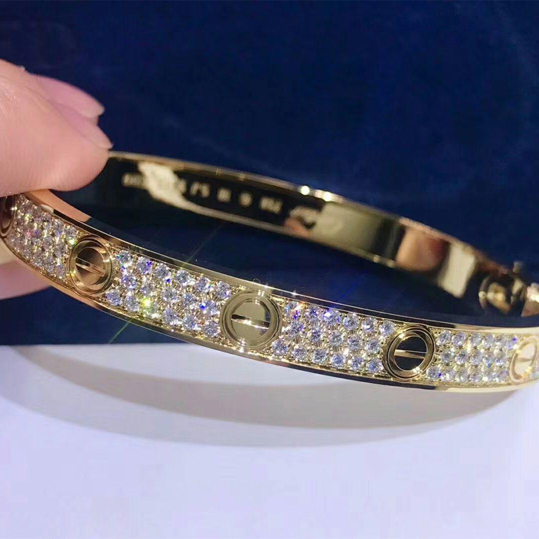 Cartier Love Bracelet In 18k Yellow