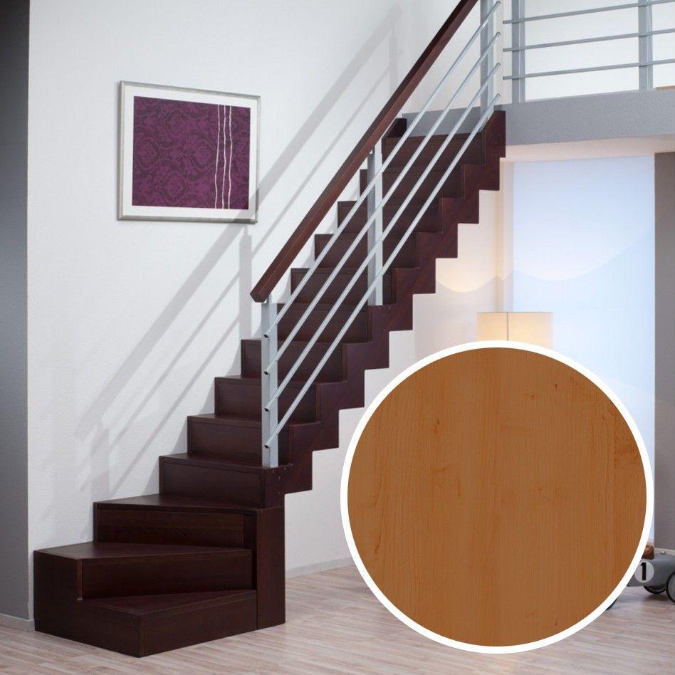 dolle raumspartreppe genf buche 1 4 gewendelt unten mit setzstufen einrichtung pinterest. Black Bedroom Furniture Sets. Home Design Ideas