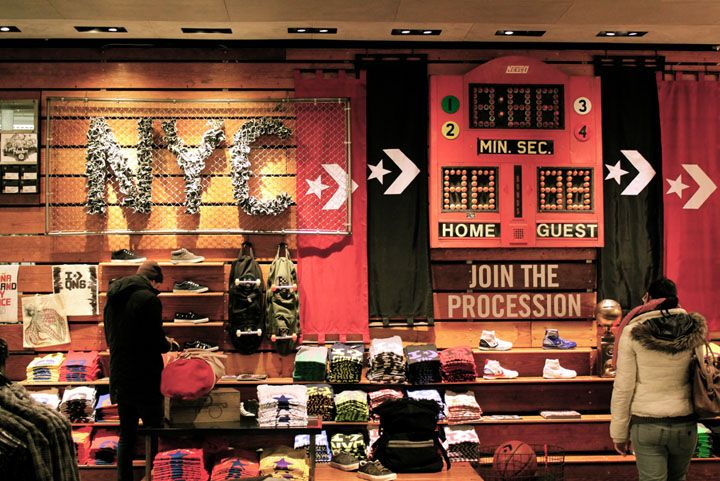 Converse flagship store, NYC | New york soho, Retail design