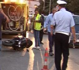 Incidente stradale in via Sagona