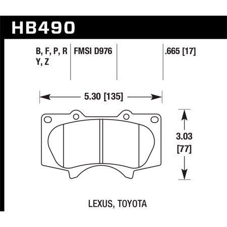 Hawk Hps Street Brake Pads Brake Pads Brake Pads Rotors Toyota