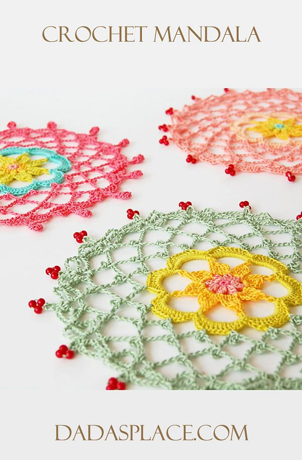 Crochet Mandala by Dada's place
