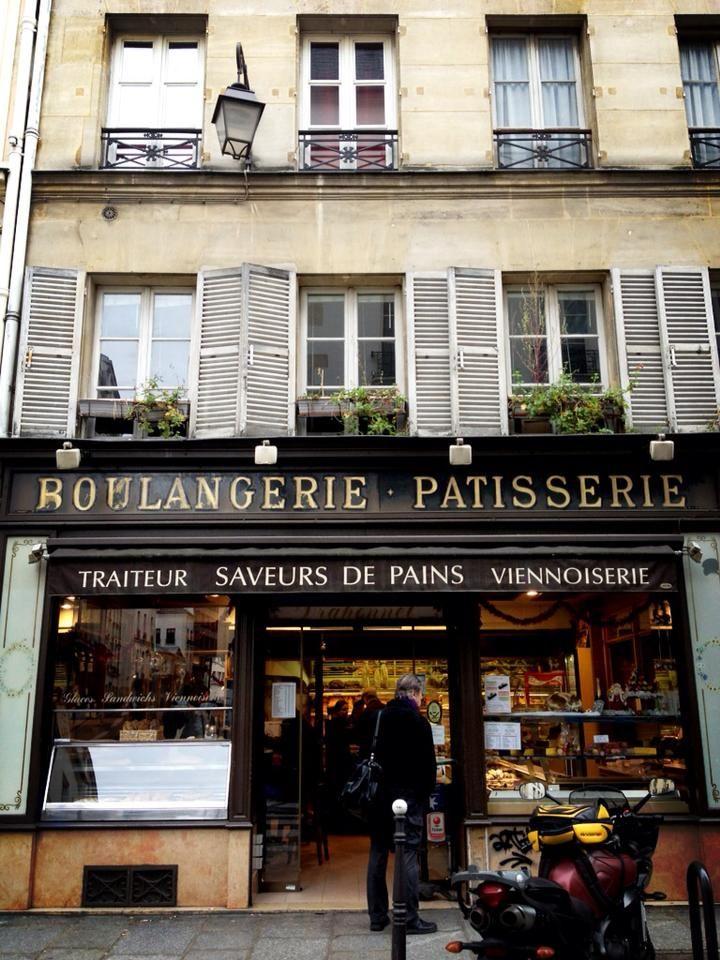 Boulangerie Patisserie - Marais, Paris