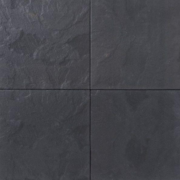 Zwarte Betontegels 60x60.60 Plus 60x60 Leisteen Antraciet Gemeleerd Korting In