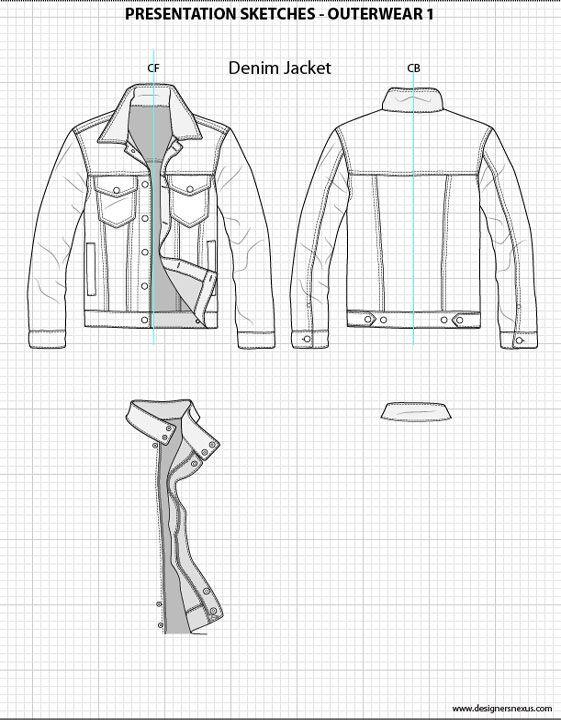 Mens Flat Fashion Sketch Templates - My Practical Skills   My ...